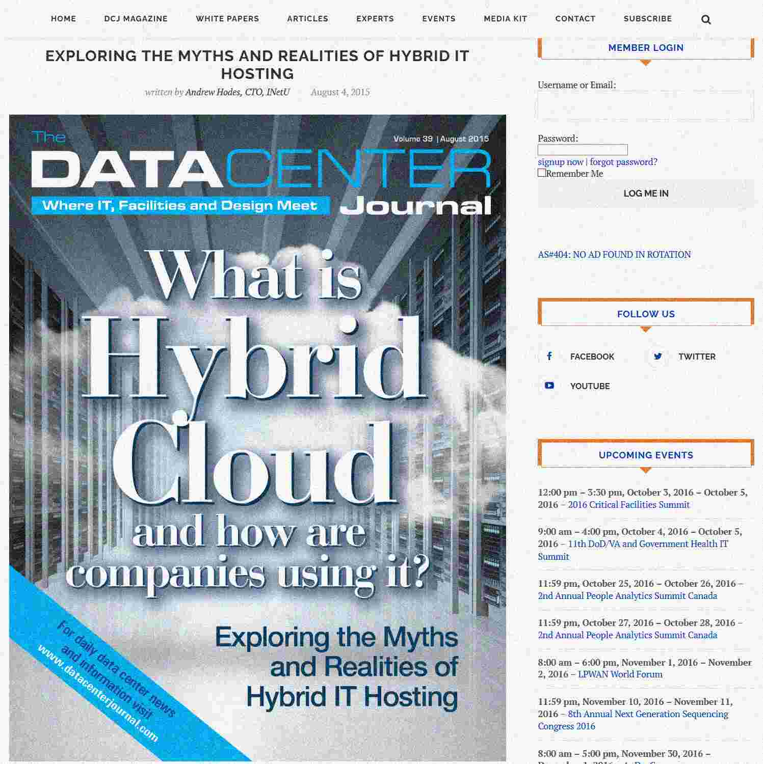 Illustration of Exploring the Myths and Realities of Hybrid IT Hosting